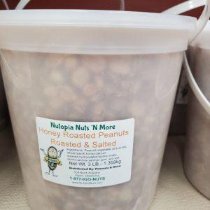 Honey Roasted & Salted Peanuts 3lb