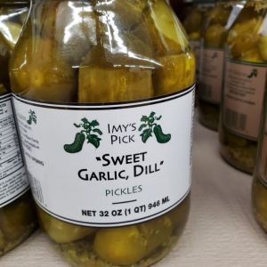Jan's Sweet, Garlic, Dill Pickles