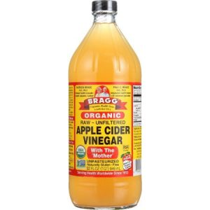 Bragg Organic Apple Cider Vinegar Unfiltered 32 Fl Oz Bottle