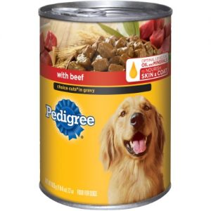 Pedigree 22 Oz Choice Cuts Beef Dog Food