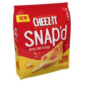 Cheez-It Snap'd Double Cheese Crackers – 7.5oz