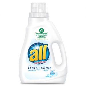 All Liquid Laundry Detergent Free Clear – 36.0 Fl Oz