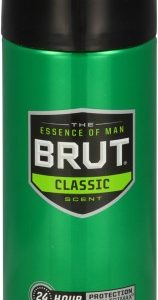 (2 Pack) Brut 24 Hour Protection Deodorant Spray Classic Scent, 10.0 Oz