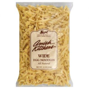 Amish Kitchens Egg Noodles Homestyle Wide 12 Oz Pack of 12 – All