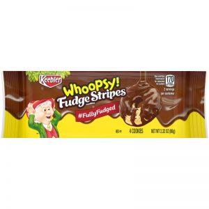 9062640 2.32 Oz Whoopsy Fudge Stripes Cookies, Pack of 12