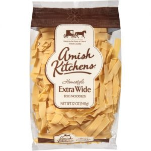 Amish Kitchens Egg Noodles Extra Wide 12 Oz Pack of 12 – All