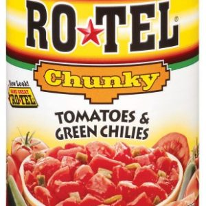 (6 Pack) RO*TEL Chunky Diced Tomatoes and Green Chilies, 10 Ounce