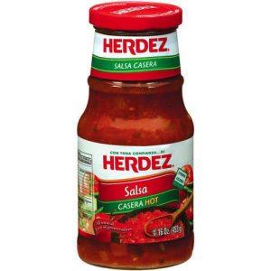 Herdez Salsa Casera Hot 16 Oz Pack of 6 – All