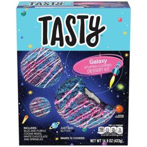 Tasty Galaxy Stuffed Cookies Dessert Kit, 14.9 Oz Box