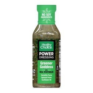 Healthy Choice Power Dressing Plant-Based Salad Dressing, Greener Goddess, 12 Oz.