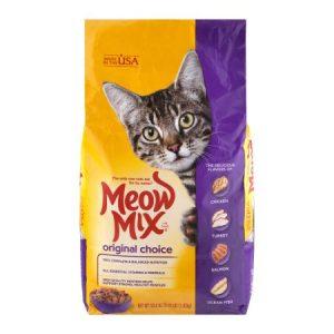 Meow Mix Original Choice Dry Cat Food – 3.15 Lb Bag
