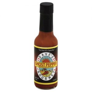 Daves Gourmet Insane Ghost Pepper Naga Jolokia Hot Sauce 5 Oz Pack of 12 – All