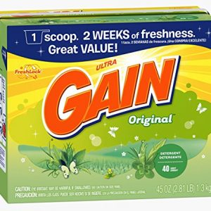 Gain 84932 45 Oz Original Scent Gain Ultra Powder Detergent (Gain Powd Ult 45oz)