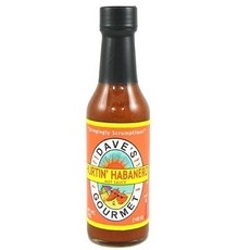 Daves Gourmet Hurtin' Habanero Hot Sauce 5 Oz Pack of 12 – All