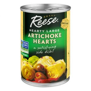 Reese Canned Artichoke Hearts 5-7 14 Oz Pack of 12 – All