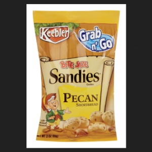 19138 3 Oz Snack Pecan Sandies – Pack of 6