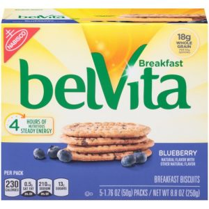 BelVita Blueberry Breakfast Biscuits – 5 Packs