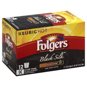 Folgers Black Silk Coffee Keurig K-Cups