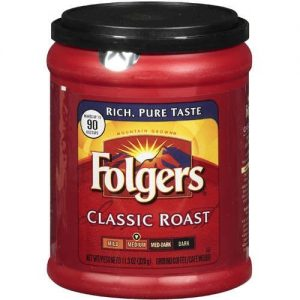 Folgers Classic Medium Roast Ground Coffee – 11.3oz