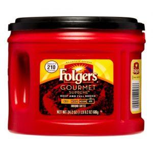 Folgers Coffee Gourmet Supreme – 24.2 Oz