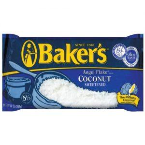 Baker's Angel Flake Sweetened Coconut – 14oz