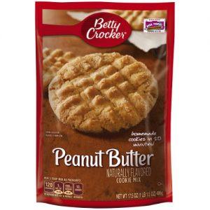 Betty Crocker Peanut Butter Cookie Mix – 17.5oz