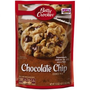 Betty Crocker Chocolate Chip Cookie Mix – 17.5oz