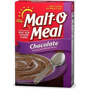 Malt-O-Meal Quick Cooking Wheat Hot Cereal, Chocolate, 36 Oz