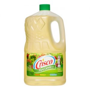 Crisco Canola Oil – 128oz