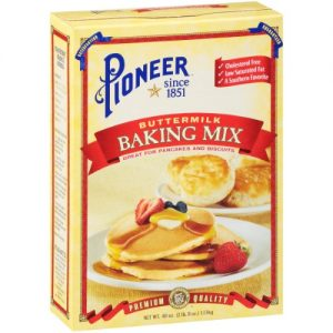 Pioneer Brand Buttermilk Biscuit & Baking Mix, 40 Oz