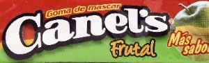 (3 Pack) Canel's Fruity Kids Chewing Gum, 4 Ct