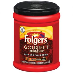 Folgers Black Silk Ground Coffee, Dark Roast, 24.2 Oz. (02054) | Quill