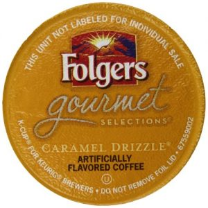 Folgers Caramel Drizzle K-Cup Pods, 12 Count