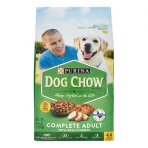 Purina Dog Chow with Real Chicken Adult Complete & Balanced Dry Dog Food – 4.4lbs