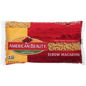 American Beauty Elbow Macaroni Pasta, 16-Ounce Bag