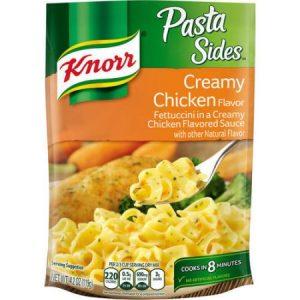 (4 Pack) Knorr Creamy Chicken Pasta Side Dish 4.2 Oz