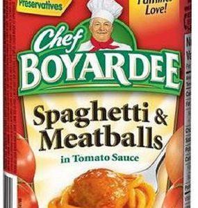 Chef Boyardee Spaghetti & Meatballs – 14.75 Oz