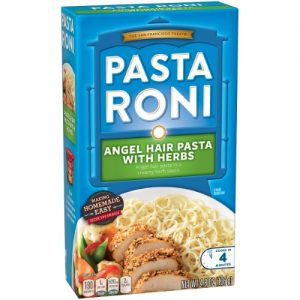 (8 Pack) Pasta Roni Angel Hair Pasta with Herbs, 4.8 Oz Box