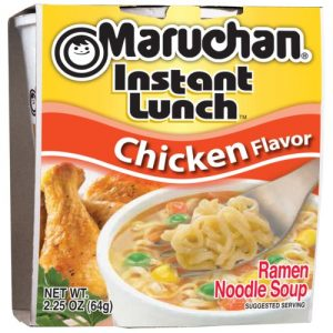 Maruchan Instant Lunch Ramen Noodles with Vegetables – 2.25 Ounces