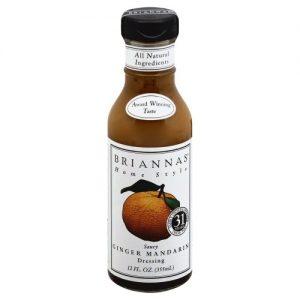 BRIANNAS Dressing, Mandarin Ginger, 12 Ounce