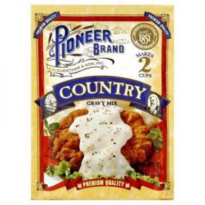 Pioneer Brand Country Gravy Mix 2.75 Oz