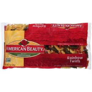 (12 Pack) American Beauty® Rainbow Twirls 12 Oz. Package