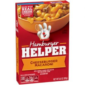 Hamburger Helper Cheeseburger Macaroni 6.6 Oz