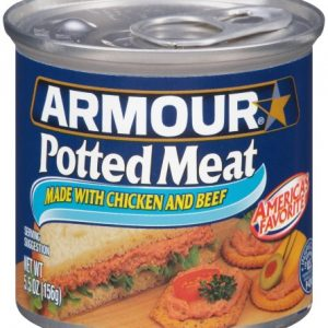 (3 Pack) Armour Chicken & Pork Potted Meat, 5.5 Oz Can