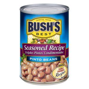 (6 Pack) BUSH'S BEST Pinto Beans Seasoned Recipe, 16.0 OZ