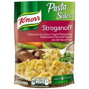 (6 Pack) Unilever Knorr Pasta Sides Stroganoff, 4 Oz