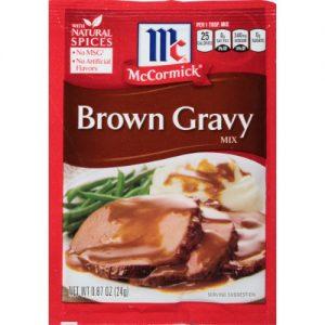 McCormick Brown Gravy Mix .87 Oz