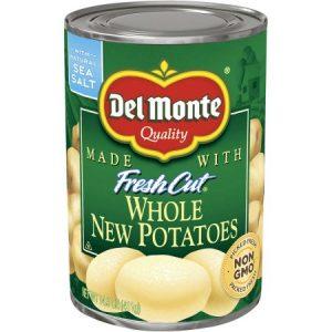 (4 Pack) Del Monte Whole New Potatoes, 14.5 Oz
