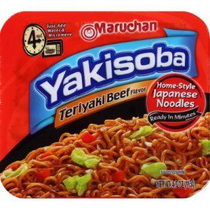 Maruchan Yakisoba Teriyaki Flavor Noodles 4oz