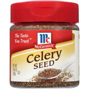 (2 Pack) McCormick Whole Celery Seed, 0.95 Oz